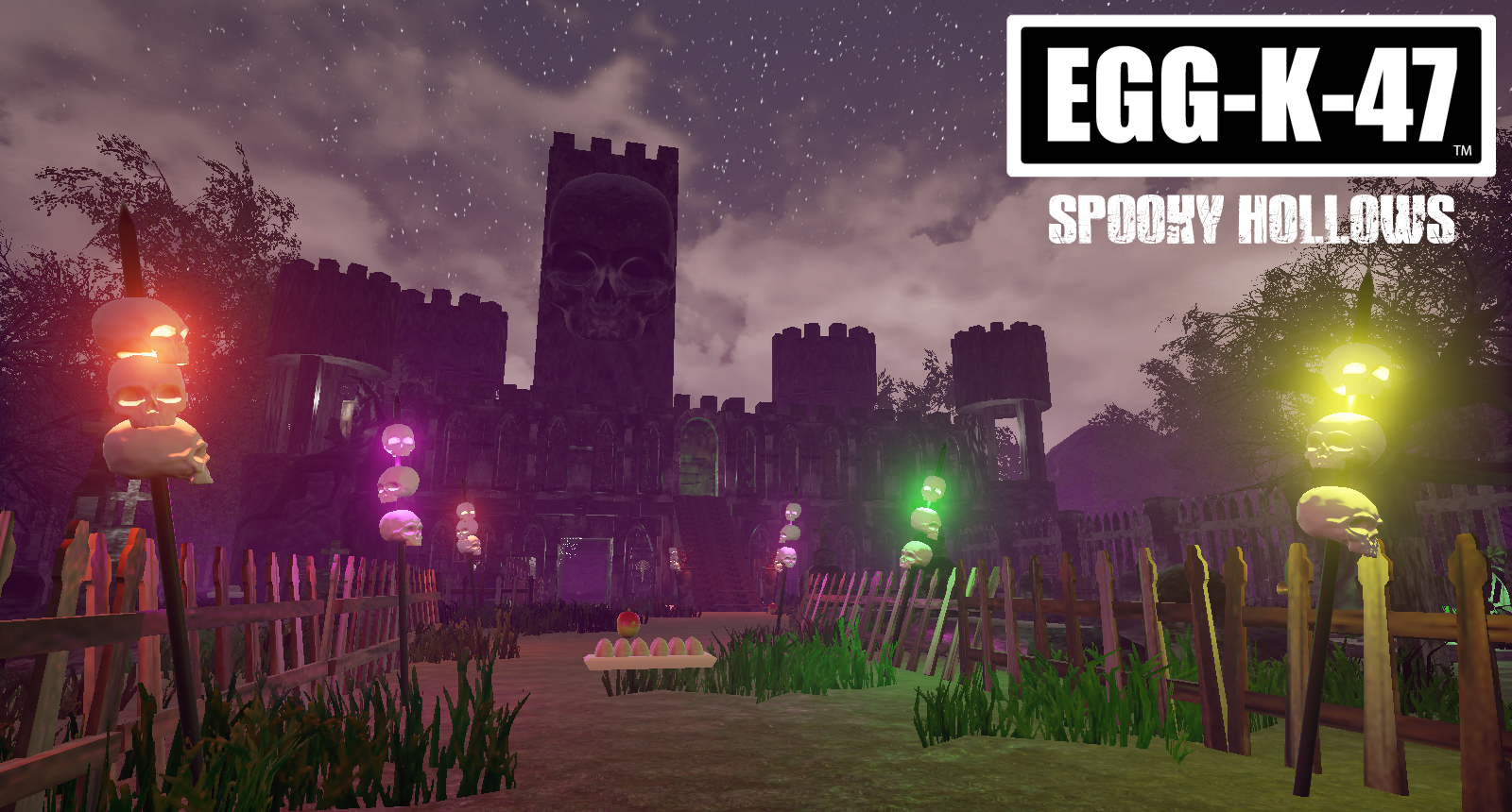 eggk47 spooky hollows game update