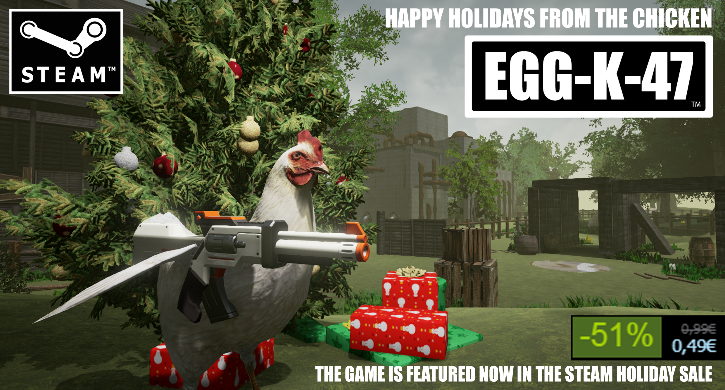 eggk47 steam holiday sale graphic 1