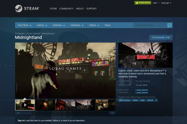 MIDNIGHTLAND ON STEAM WISHLIST