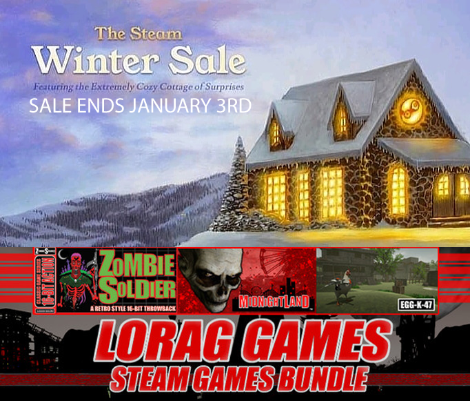 STEAM WINTER SALE LAST 3 DAYS